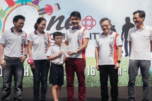 Andric Lim of 4 Filial Piety 1st in Primary School Category